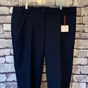 Talbots NWT Navy Hampshire Ankle Pants Size 16